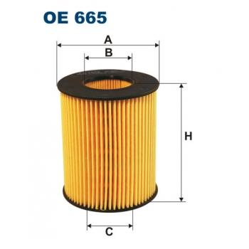 Filtron OE 665 - olejovy filtr