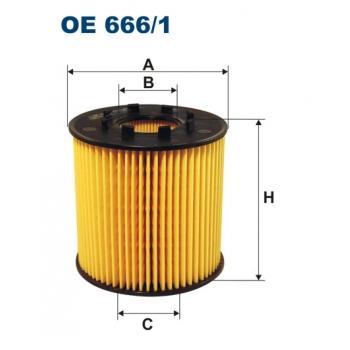 Filtron OE 666/1 - olejovy filtr
