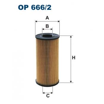 Filtron OE 666/2 - olejovy filtr