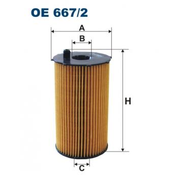 Filtron OE 667/2 - olejovy filtr