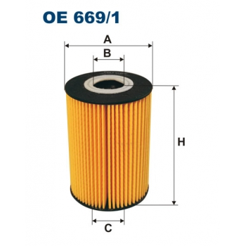 Filtron OE 669/1 - olejovy filtr