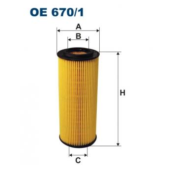 Filtron OE 670/1 - olejovy filtr