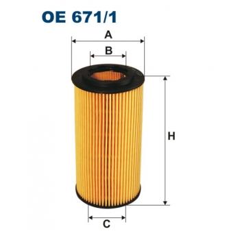 Filtron OE 671/1 - olejovy filtr
