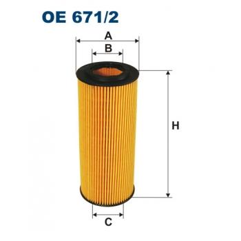 Filtron OE 671/2 - olejovy filtr