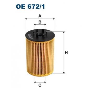 Filtron OE 672/1 - olejovy filtr