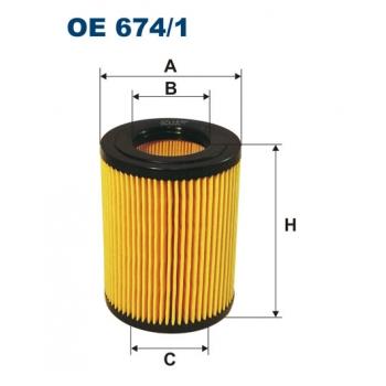 Filtron OE 674/1 - olejovy filtr