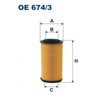 Filtron OE 674/3 - olejovy filtr