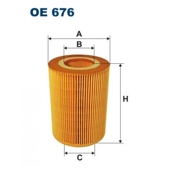 Filtron OE 676 - olejovy filtr
