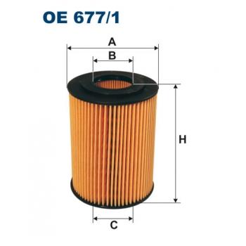 Filtron OE 677/1 - olejovy filtr