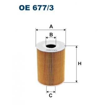Filtron OE 677/3 - olejovy filtr