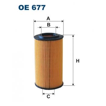 Filtron OE 677 - olejovy filtr