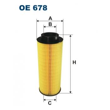 Filtron OE 678 - olejovy filtr
