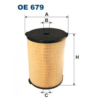 Filtron OE 679 - olejovy filtr