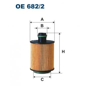 Filtron OE 682/2 - olejovy filtr