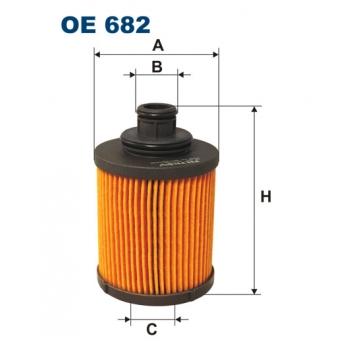 Filtron OE 682 - olejovy filtr