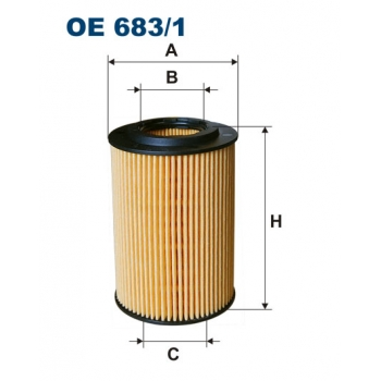 Filtron OE 683/1 - olejovy filtr