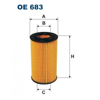 Filtron OE 683 - olejovy filtr
