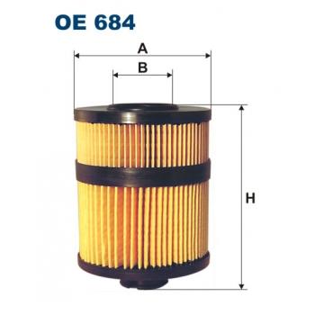 Filtron OE 684 - olejovy filtr
