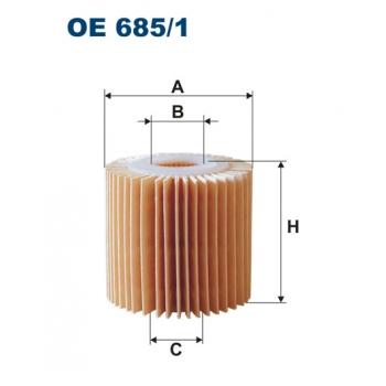 Filtron OE 685/1 - olejovy filtr