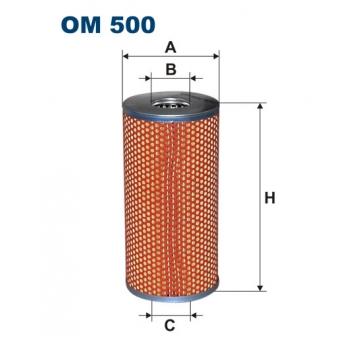 Filtron OM 500 - olejovy filtr