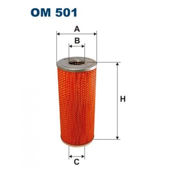 Filtron OM 501 - olejovy filtr