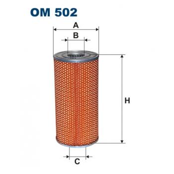 Filtron OM 502 - olejovy filtr