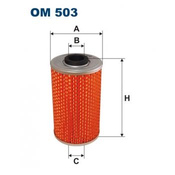 Filtron OM 503 - olejovy filtr