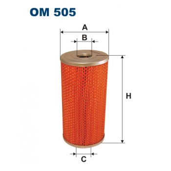 Filtron OM 505 - olejovy filtr