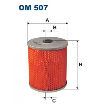 Filtron OM 507 - olejovy filtr