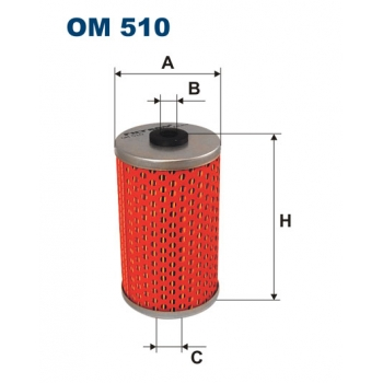 Filtron OM 510 - olejovy filtr