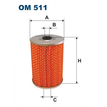 Filtron OM 511 - olejovy filtr