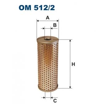 Filtron OM 512/2 - olejovy filtr