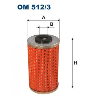 Filtron OM 512/3 - olejovy filtr