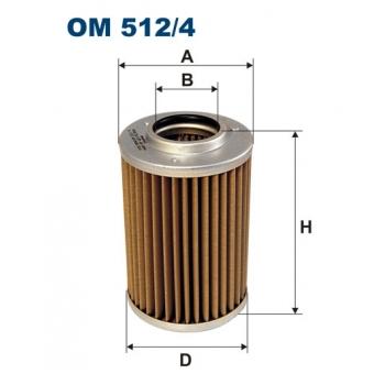 Filtron OM 512/4 - olejovy filtr