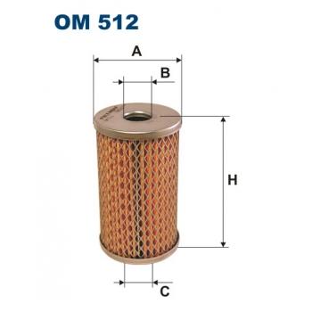 Filtron OM 512 - olejovy filtr