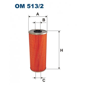 Filtron OM 513/2 - olejovy filtr