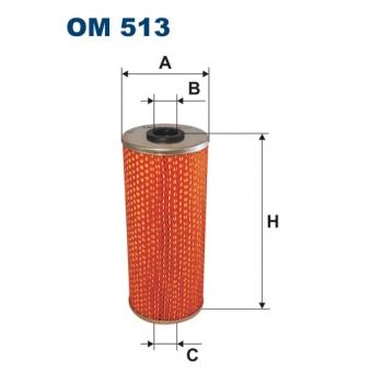 Filtron OM 513 - olejovy filtr