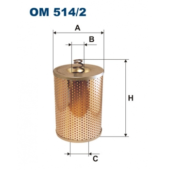 Filtron OM 514/2 - olejovy filtr