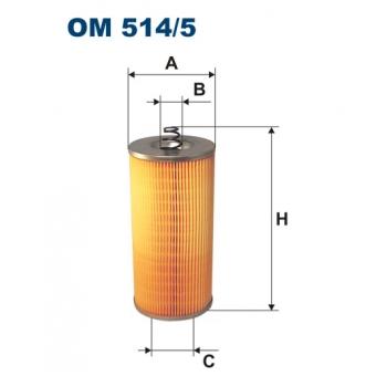 Filtron OM 514/5 - olejovy filtr