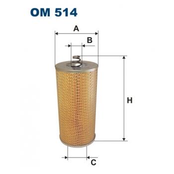 Filtron OM 514 - olejovy filtr