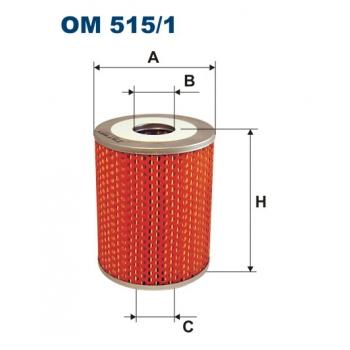 Filtron OM 515/1 - olejovy filtr