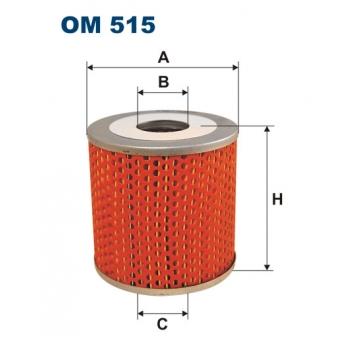 Filtron OM 515 - olejovy filtr