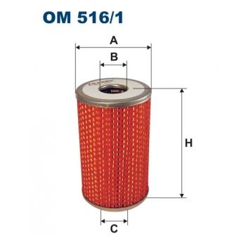 Filtron OM 516/1 - olejovy filtr
