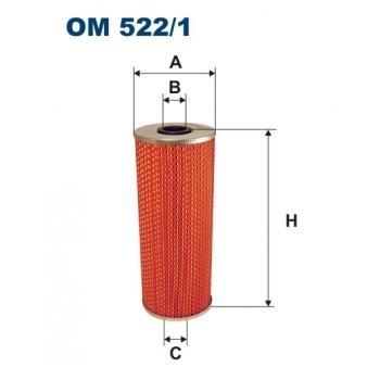 Filtron OM 522/1 - olejovy filtr