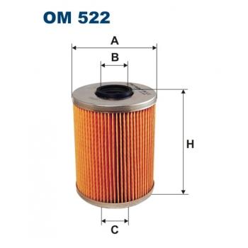 Filtron OM 522 - olejovy filtr