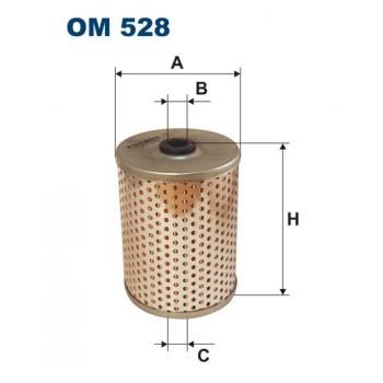 Filtron OM 528 - olejovy filtr