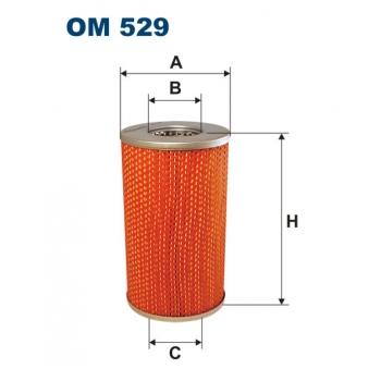 Filtron OM 529 - olejovy filtr
