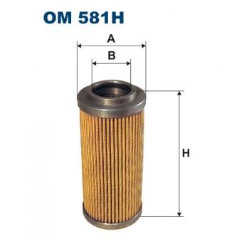 Filtron OM 581H - olejovy filtr
