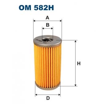 Filtron OM 582H - olejovy filtr
