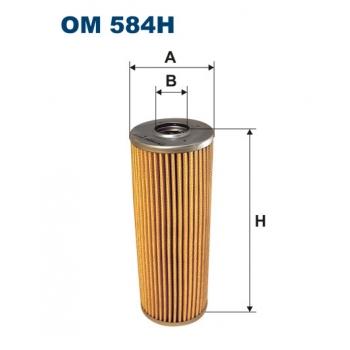 Filtron OM 584H - olejovy filtr
